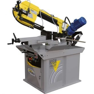 "FMB Titan Model Gravity with Hydraulic Control Downfeed The Titan's large 14"" capacity and rugged, variable speed saw drive, allow the Titan to saw cut a wide range of material efficiently and accurately. If you cut thin wall tubes, profiles as well as heavy steel sections and hard solid materials, the Titan is the saw for your shop."