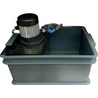 Recirculating  flood coolant system
