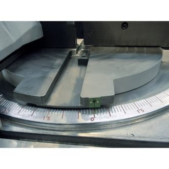 Miter scale for precise angle measurement
