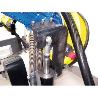 Positive hydraulic cutting pressure system