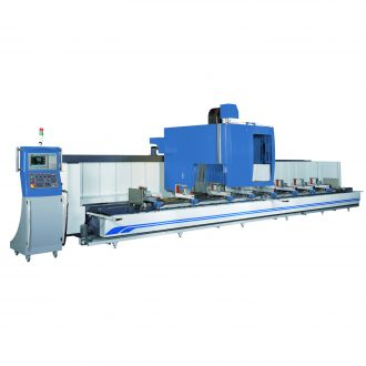 PMI-CNC S-Type 4-Axis Profile Machining Center