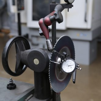 Saw Blade Sharpening - Straightener